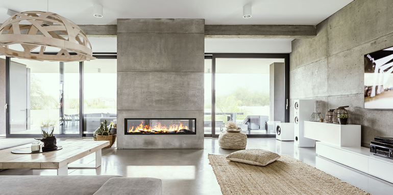 How Does a Modern Designer Fireplace Benefit Your Home?